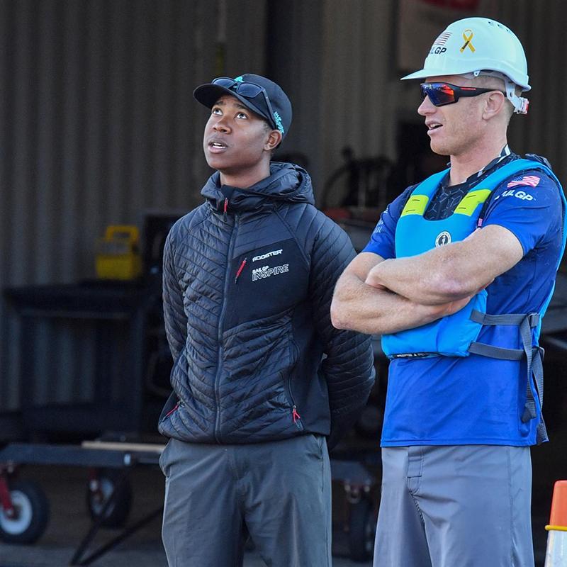 Jimmy Spithill & Tre Maxwell Bermuda Sept 2021