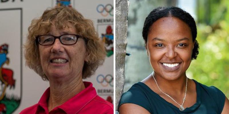 Julia Hawley & Ashley Yearwood Bermuda Sept 2021