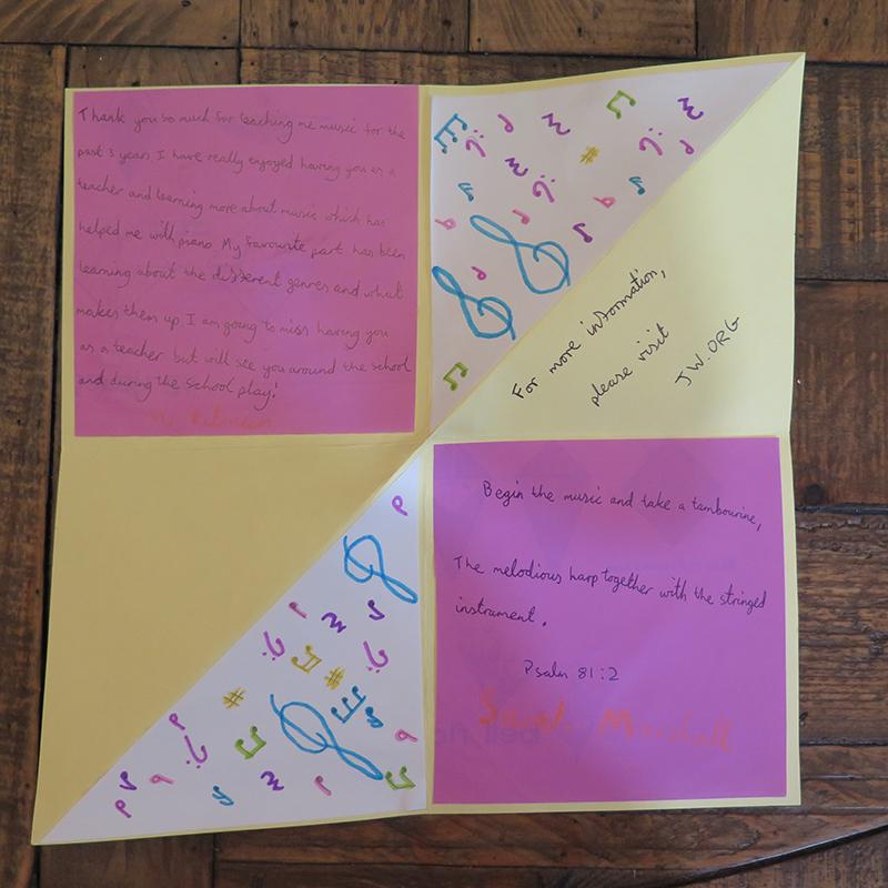 Kids Bring Hope Through Their Letters & Drawings Bermuda Sept 2021 5