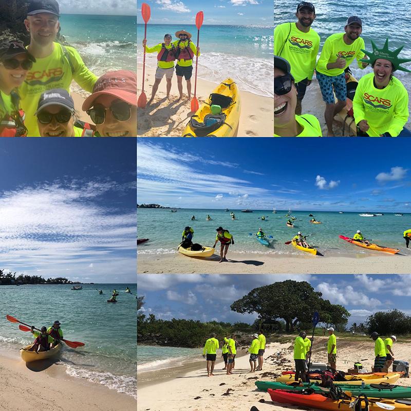 Liberty Kayak4Kids Event Bermuda Sept 2021