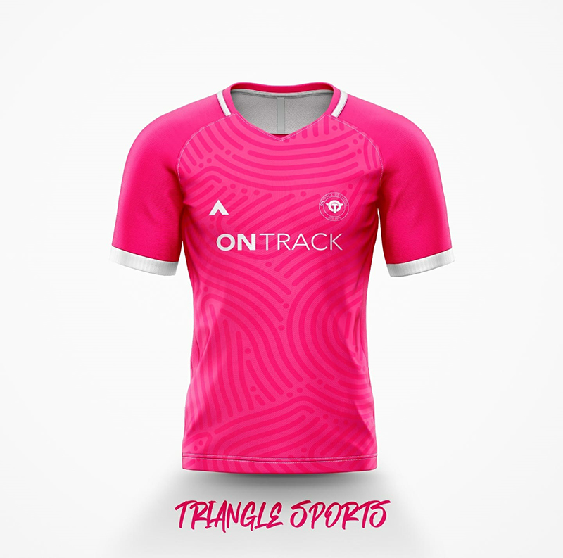 OnTrack Breast Cancer Athletic Jersey Bermuda Sept 2021