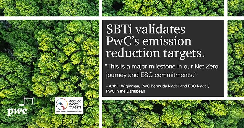 PWC Validated By SBTI Bermuda Sept 2021