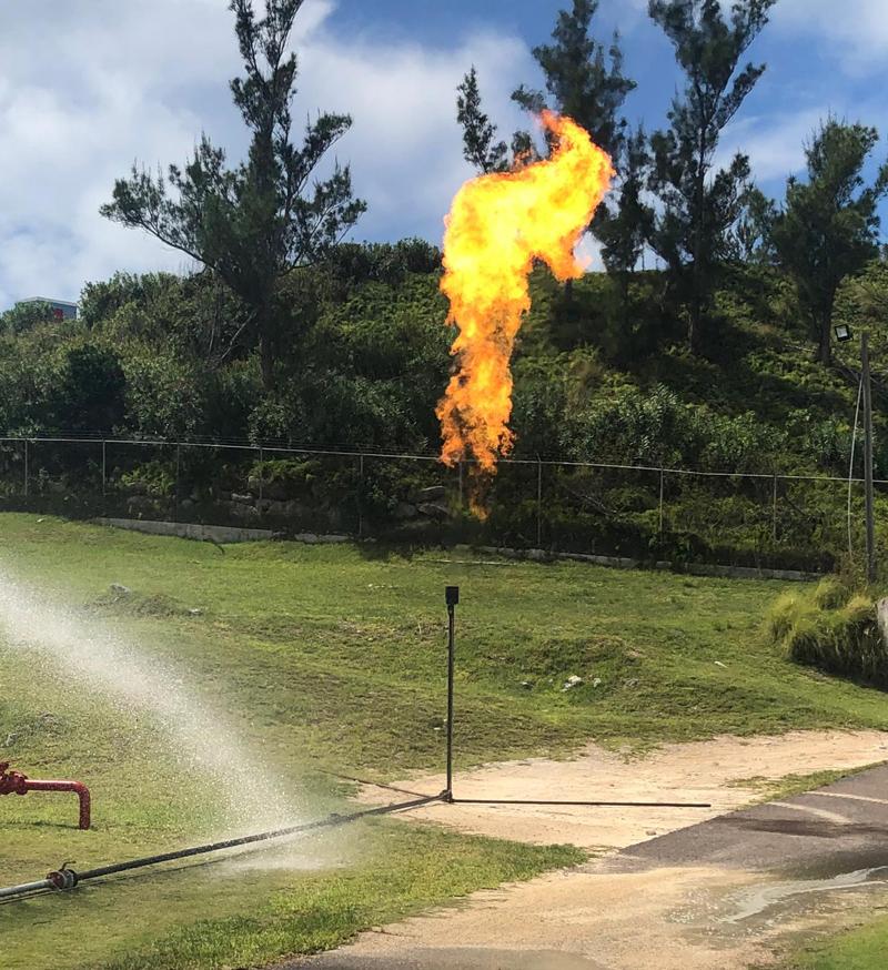 RUBiS flaring operations Bermuda Sept 2021 (2)