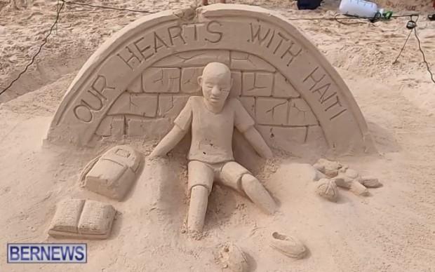 SANDCASTLE Bermuda contest sand beach 2021 Bernews JT (3)