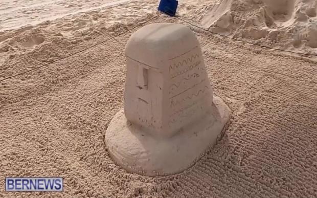SANDCASTLE Bermuda contest sand beach 2021 Bernews JT (7)