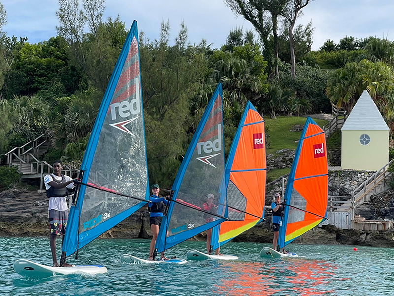 Start Windsurf Bermuda September 19 2021 2
