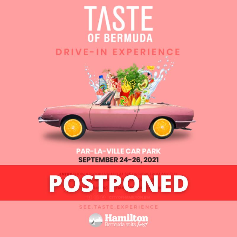 Taste of Bermuda Drive-In Experience Postponed September