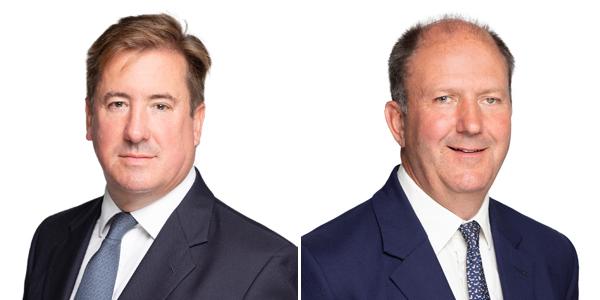 Tim Glover and David White Bermuda Sept 2021