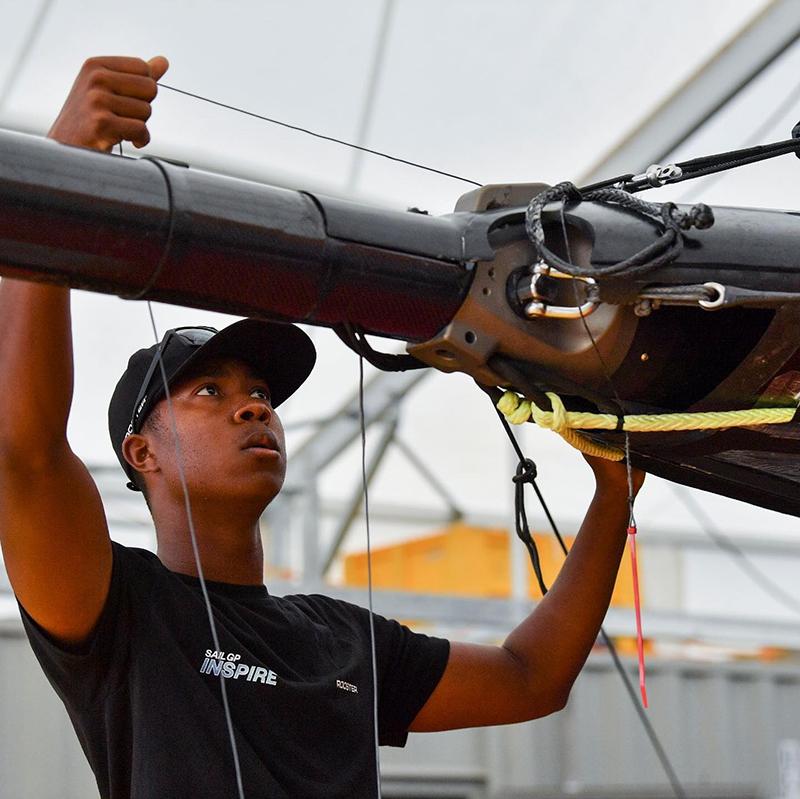 Tre Maxwell SailGP Inspire Bermuda Sept 2021
