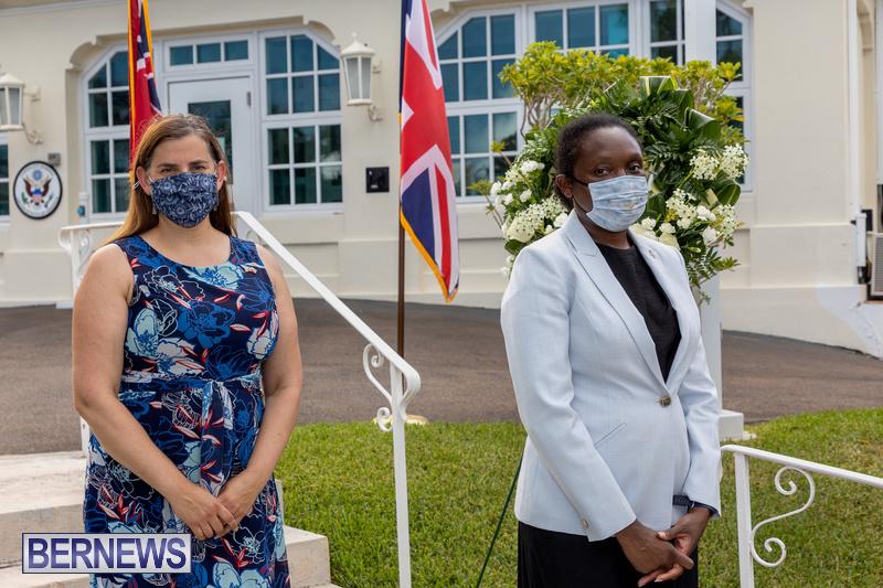 US Consulate Bermuda 9 11 Memorial 20 years September 11 2021 (10)