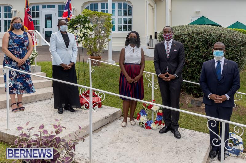 US Consulate Bermuda 9 11 Memorial 20 years September 11 2021 (11)