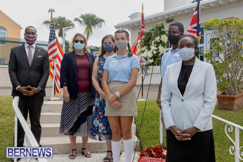 US Consulate Bermuda 9 11 Memorial 20 years September 11 2021 (15)
