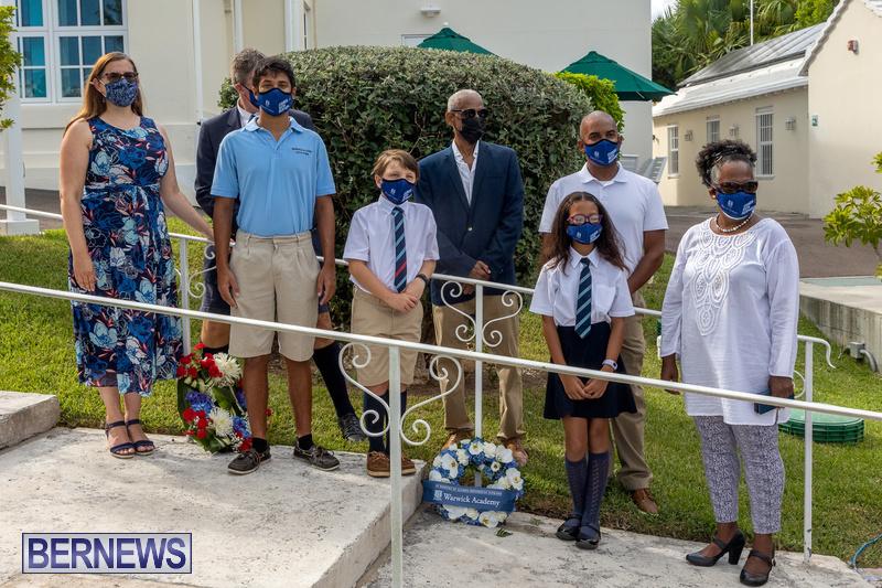 US Consulate Bermuda 9 11 Memorial 20 years September 11 2021 (5)
