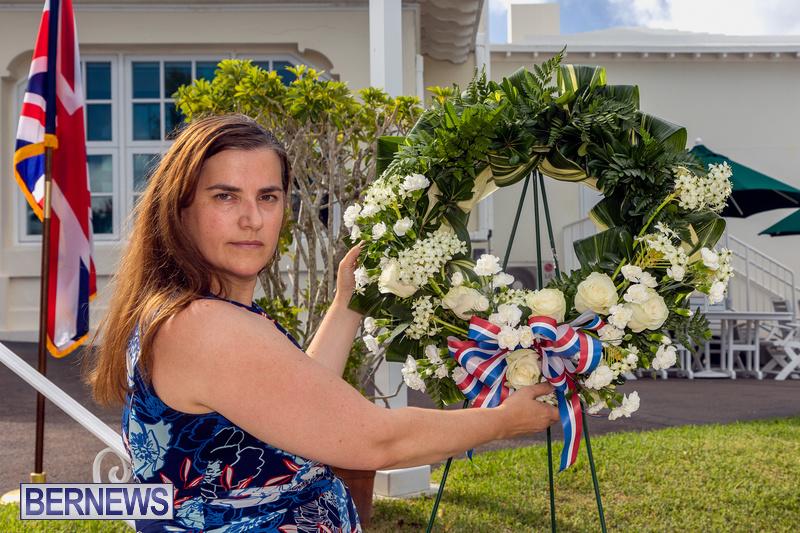 US Consulate Bermuda 9 11 Memorial 20 years September 11 2021 (8)