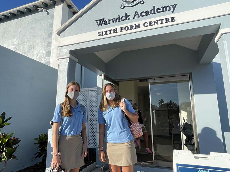 Warwick Academy Back To School Bermuda Sept 2021 11
