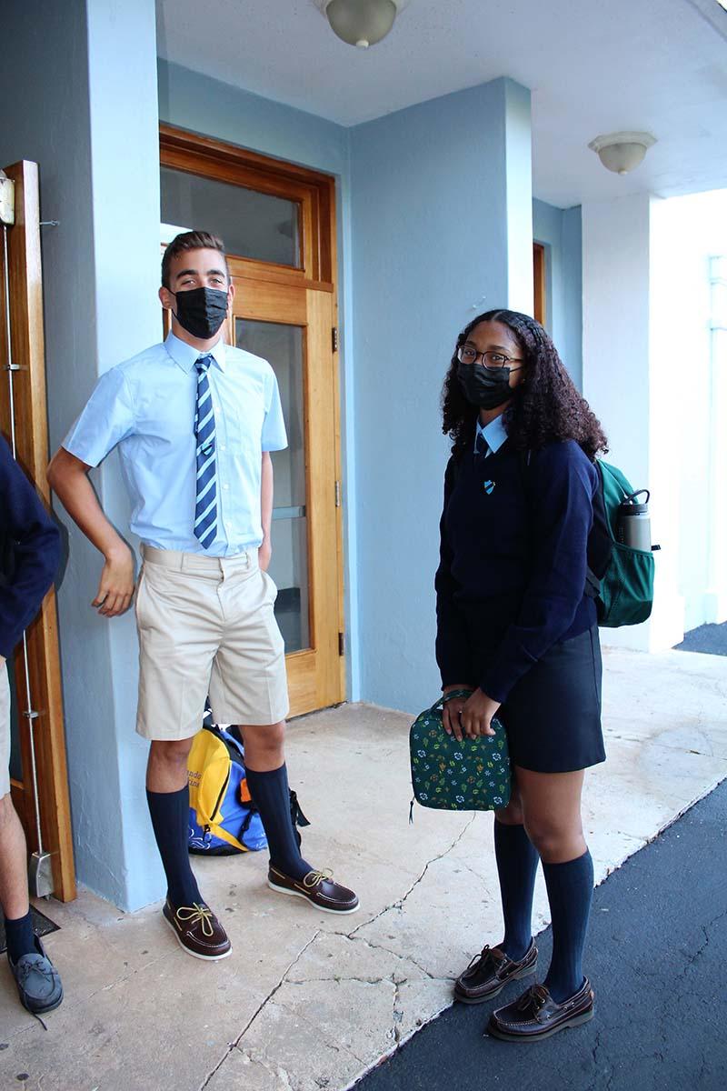 Warwick Academy Back To School Bermuda Sept 2021 21
