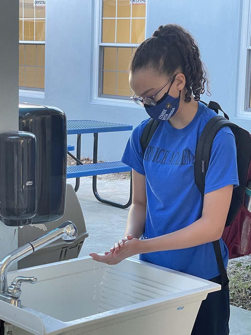 Warwick Academy Back To School Bermuda Sept 2021 35