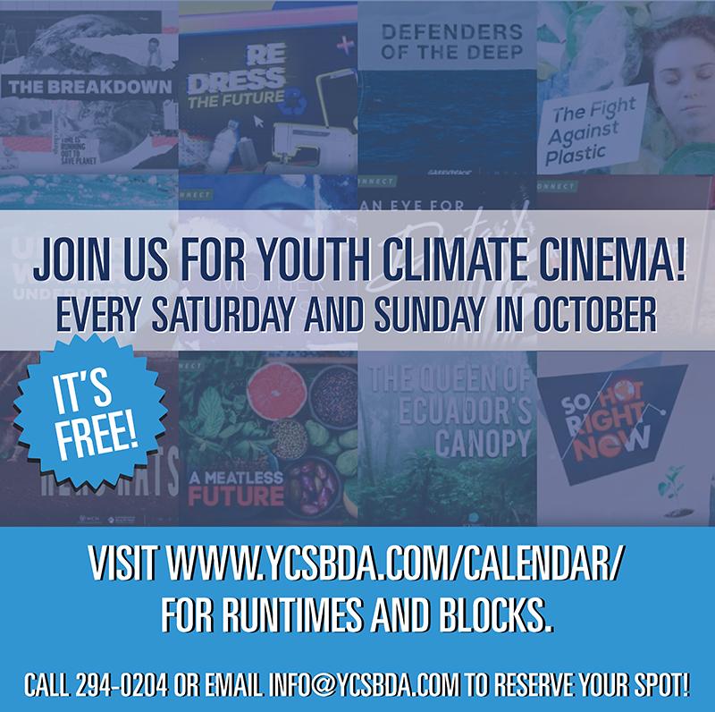 BUEI Youth Climate Cinema Bermuda Oct 2021