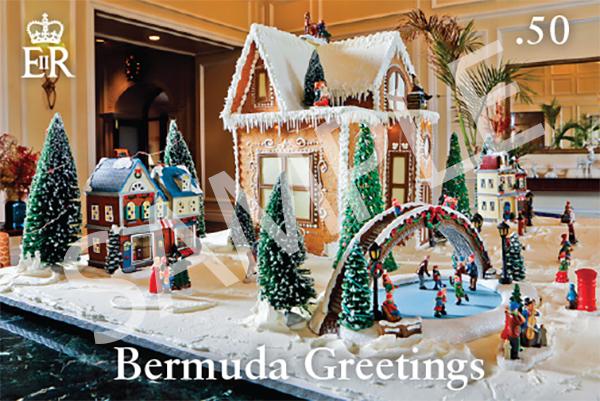 Bermuda Greetings Christmas Stamps Oct 13 2021 (1)
