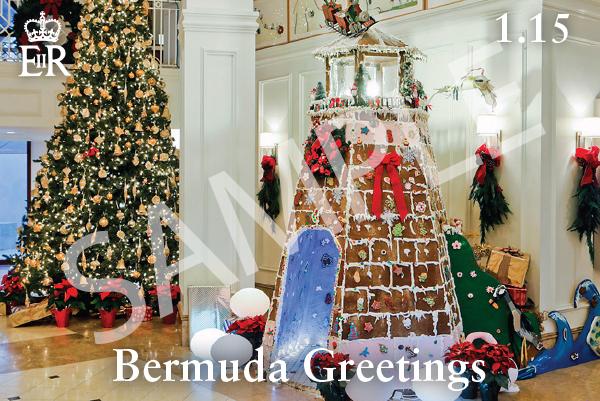 Bermuda Greetings Christmas Stamps Oct 13 2021 (4)