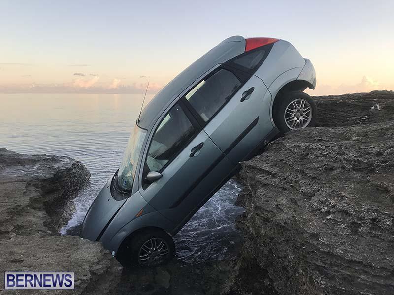 Car Overboard In North Shore Bermuda Oct 2021 2