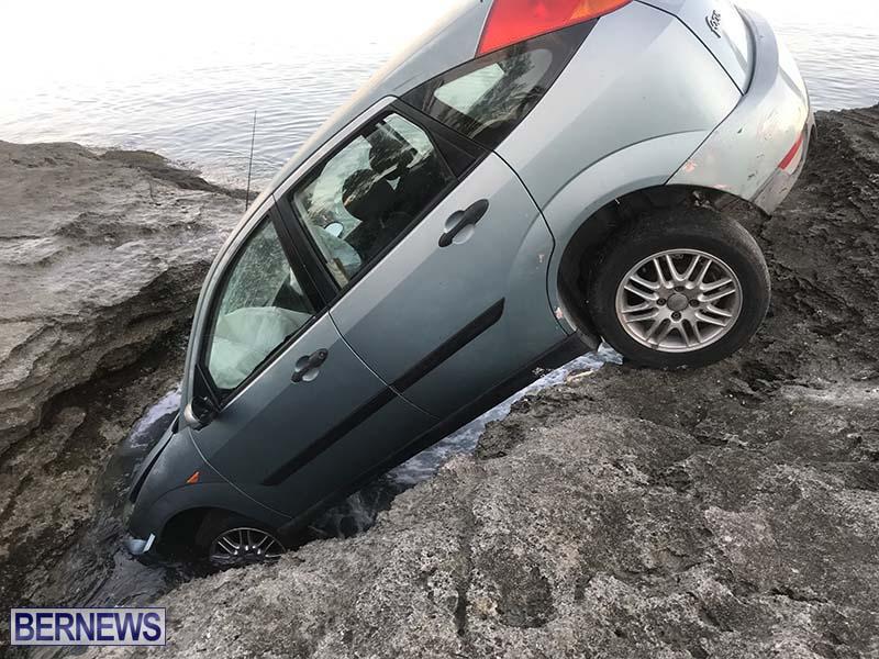 Car Overboard In North Shore Bermuda Oct 2021 4