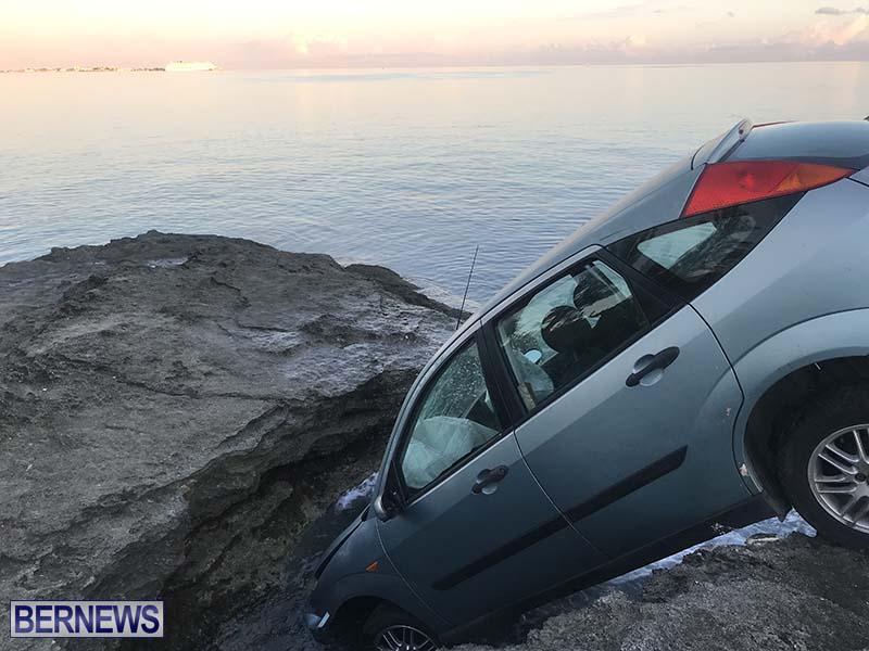 Car Overboard In North Shore Bermuda Oct 2021 5
