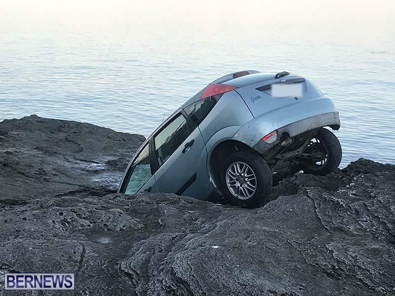 Car Overboard In North Shore Bermuda Oct 2021 7