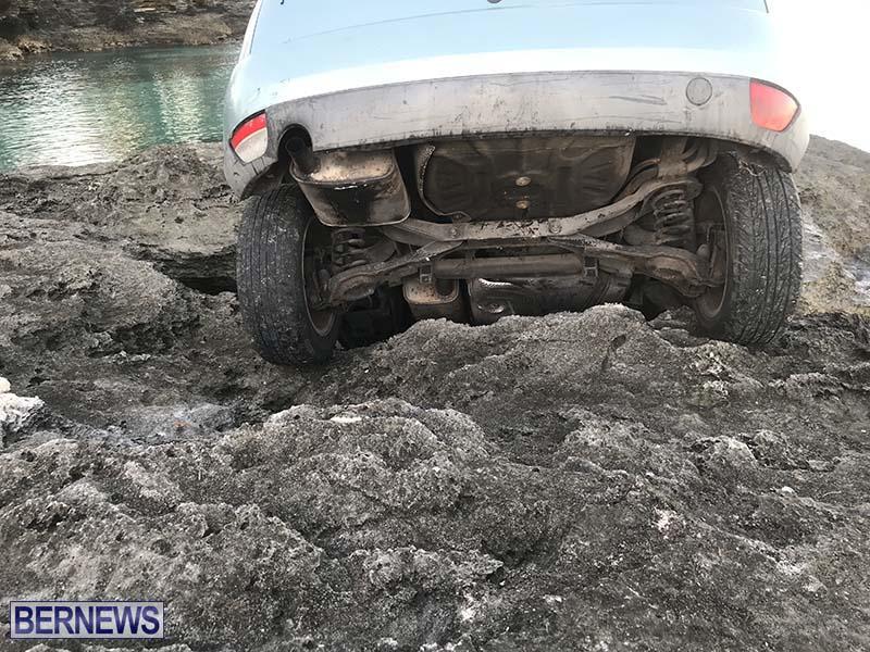 Car Overboard In North Shore Bermuda Oct 2021 9