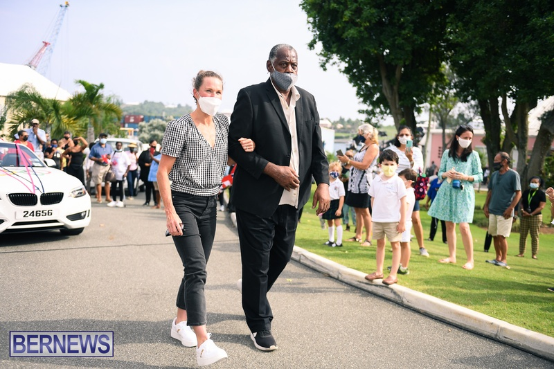 Flora Duffy Clarence Hill Olympic medalists Bermuda 2021 (7)