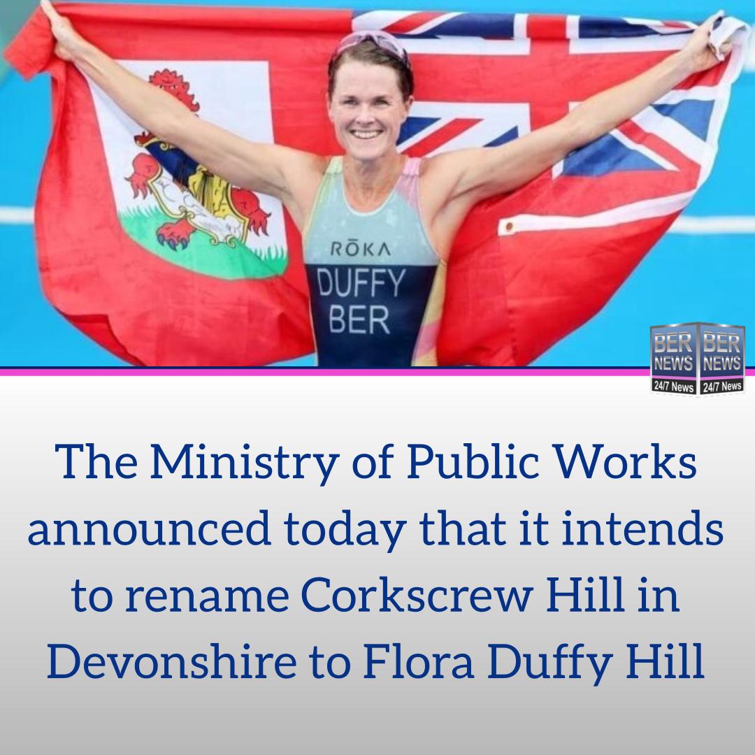 Flora Duffy Hill Bermuda 2021
