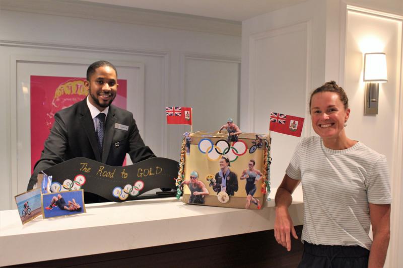 Hamilton Princess Unveils Duffy Mailbox Bermuda Oct 2021 (2)