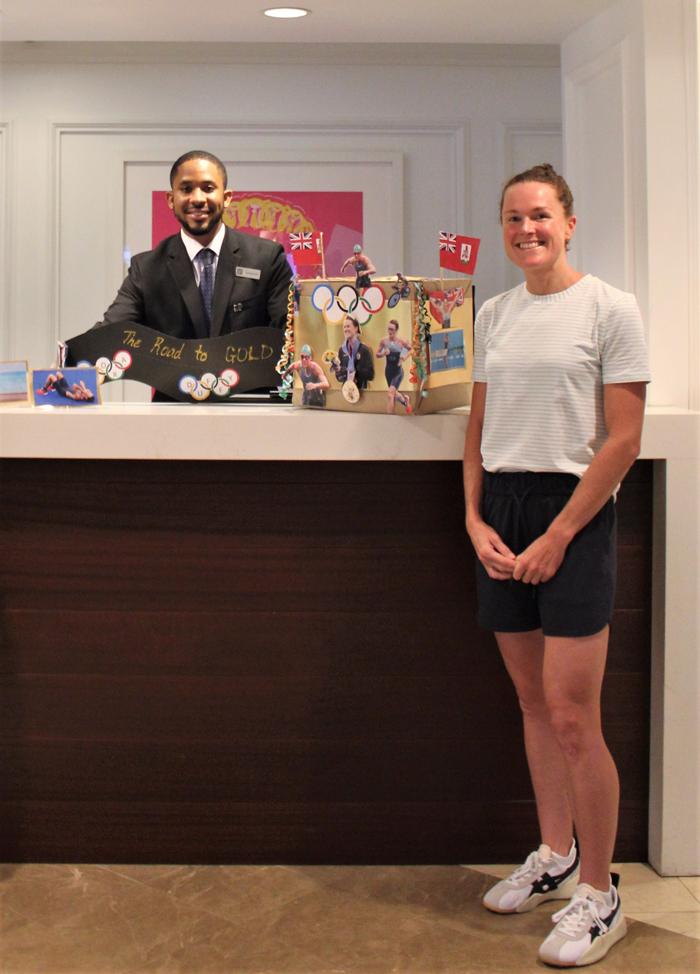 Hamilton Princess Unveils Duffy Mailbox Bermuda Oct 2021 (4)