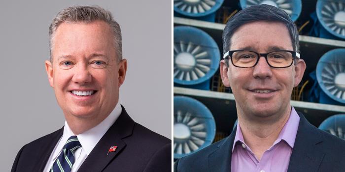 John Huff and Roy Wright Bermuda October 2021