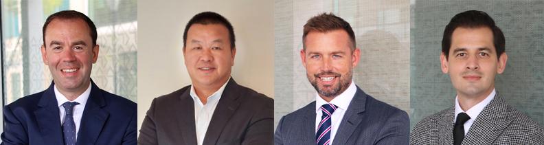 KPMG Dr Edward Fitzgerald, Alex Xu, Troy Dort & Nathan Bickley-May Bermuda Oct 2021