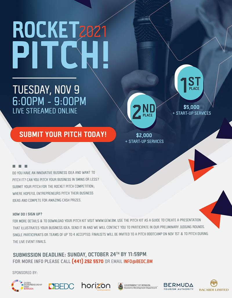 Rocket Pitch Bermuda Oct 2021 2