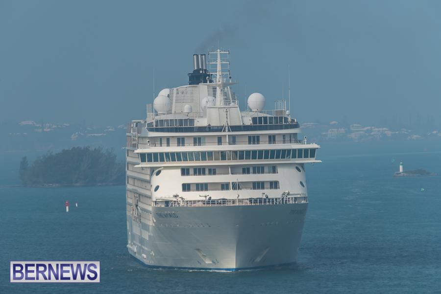The World Cruise Ship Bermuda Oct 2021 2