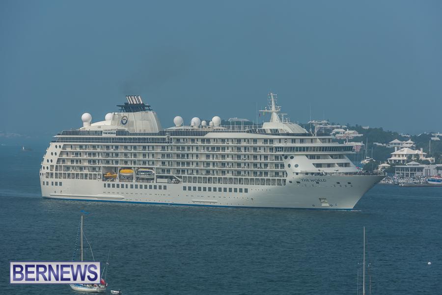 The World Cruise Ship Bermuda Oct 2021 3