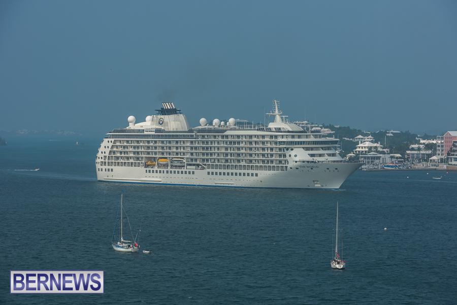 The World Cruise Ship Bermuda Oct 2021 4