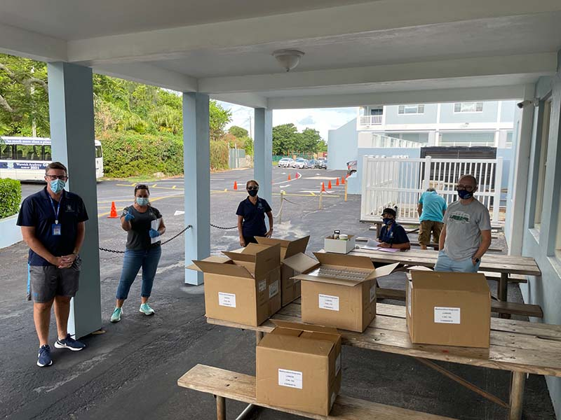 WA Hands Out Antigen Tests Kits To Students Bermuda Oct 2021 1