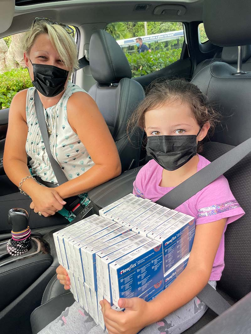 WA Hands Out Antigen Tests Kits To Students Bermuda Oct 2021 4
