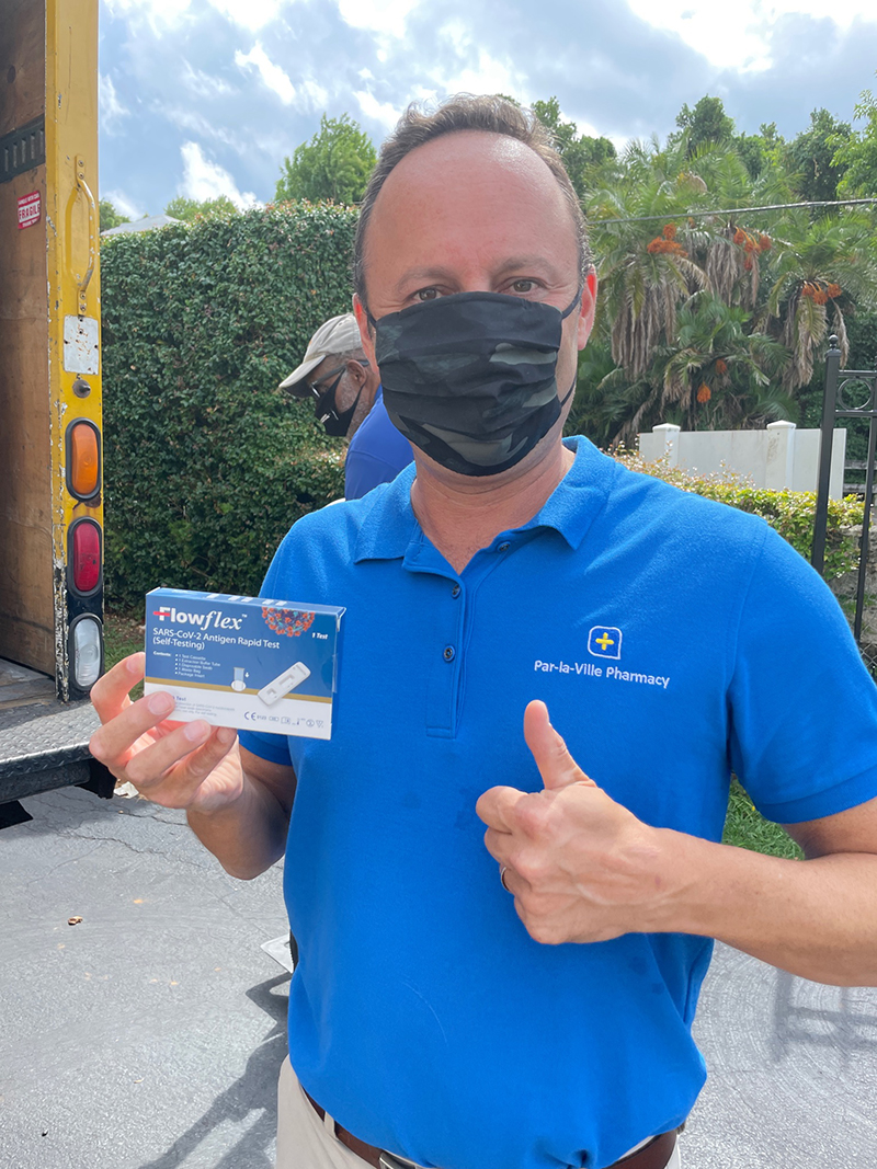 WA Hands Out Antigen Tests Kits To Students Bermuda Oct 2021 5