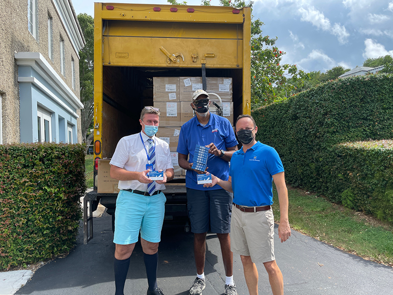 WA Hands Out Antigen Tests Kits To Students Bermuda Oct 2021