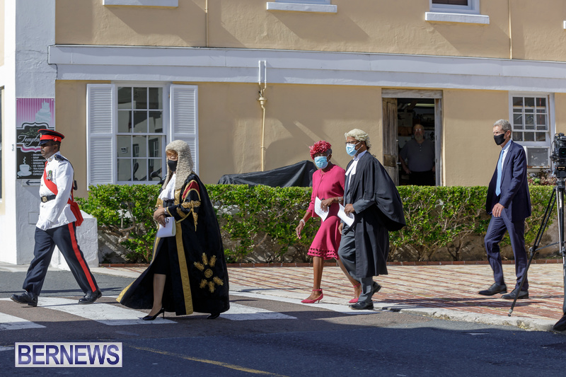 2020-Parliament-Throne-Speech-400th-Anniversary-Bermuda-St-George-DF-Bernews-28