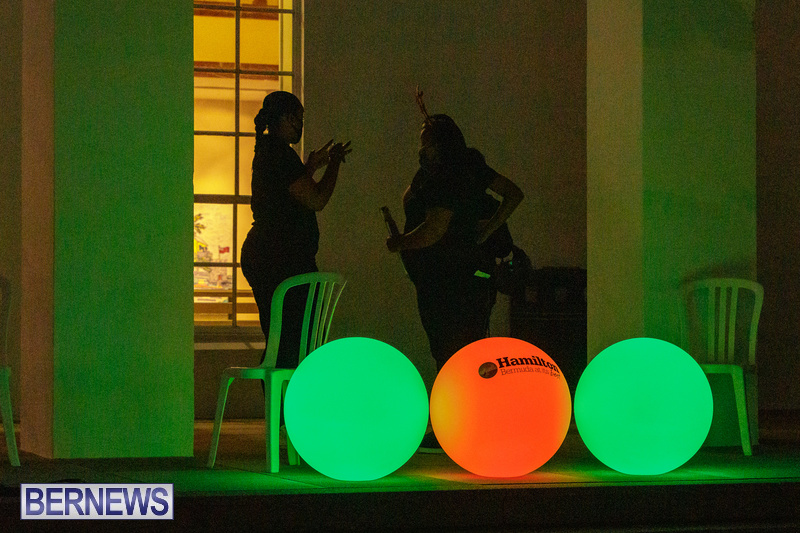 Bermuda City Hall tree lighting November 2020 (13)