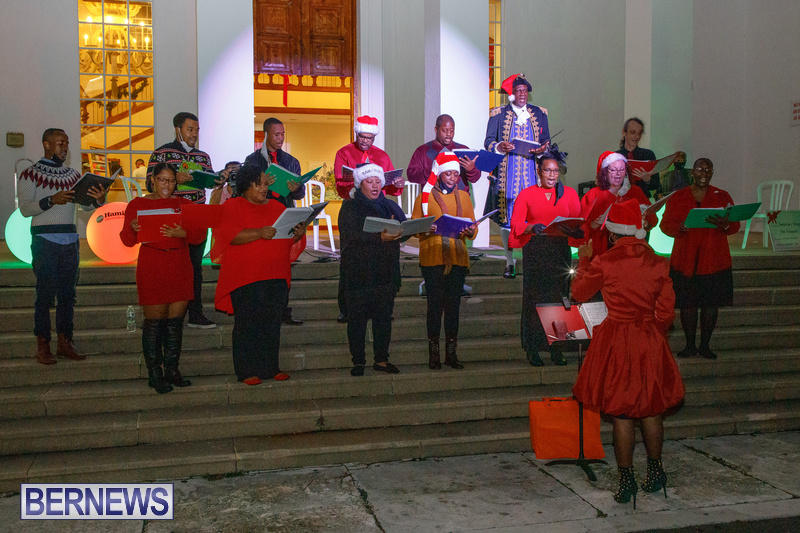 Bermuda City Hall tree lighting November 2020 (4)