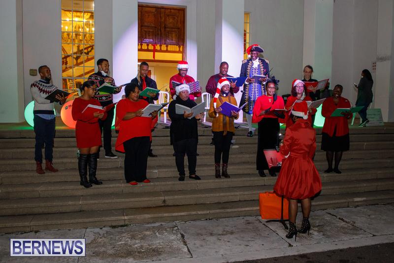 Bermuda City Hall tree lighting November 2020 (5)