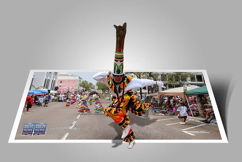 Bermuda Day Parade 3D Popup Virtual Image Bermuda3D Bernews created 2021 bdaday (2)