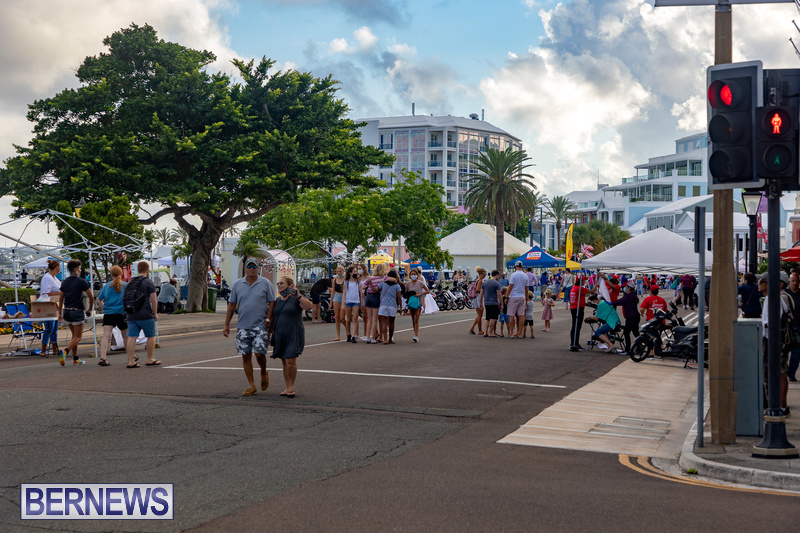 2021 Bermuda Harbour Nights July 21 DF Front Street Hamilton shopping (1)