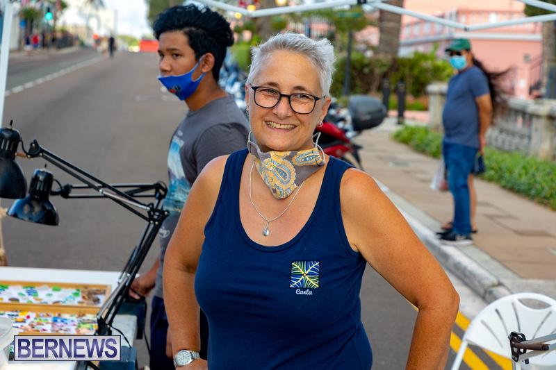2021 Bermuda Harbour Nights July 21 DF Front Street Hamilton shopping (30)